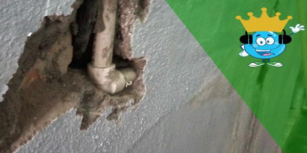 Vazamentos na parede