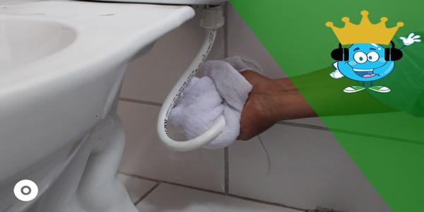 Vazamento de vaso sanitário