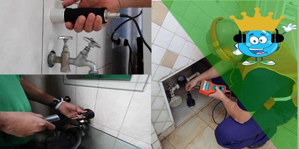 Qual os equipamentos mais utilizados para detectar vazamentos