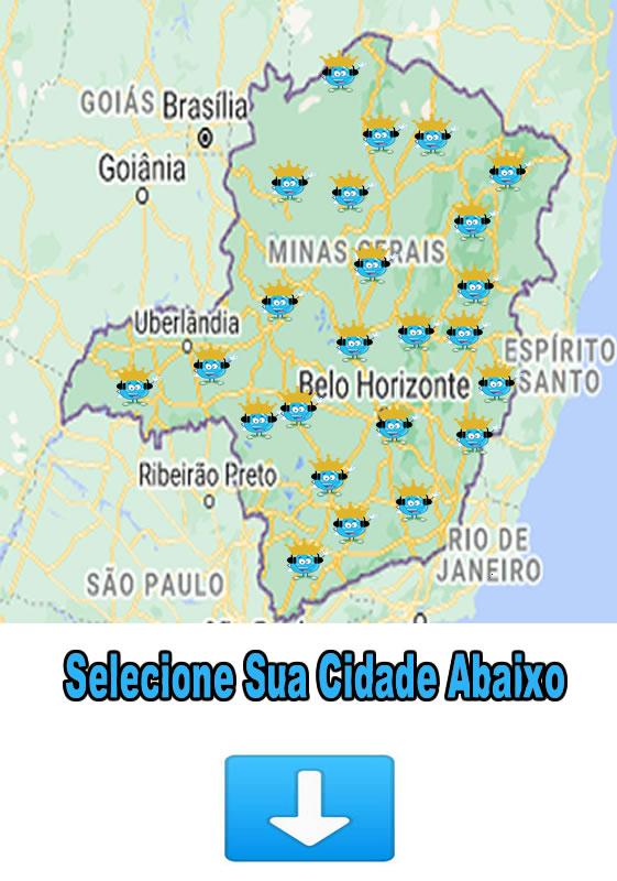 Municípios-Atendidos em Minas Gerais
