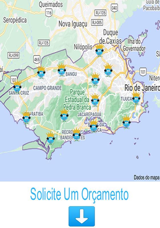 Cidades Atendidas Rio Janeiro