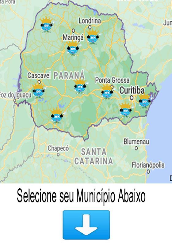 Municípios Atendidos no Paraná