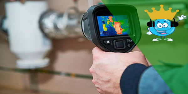 Como a Câmera Térmica ajuda na localização de vazamento