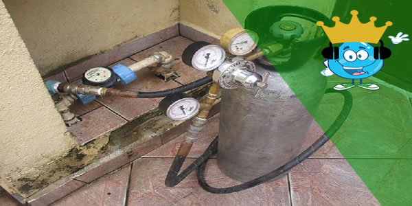 Como é Feita a Pressurização para Identificação de Vazamento