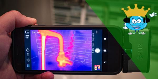 Como transformar celular em câmera térmica